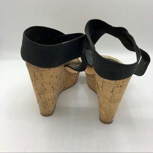 Steve Madden Shoes - Steve Madden | Cork Wedge Ankle Strap Heels